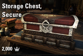 Storage Chest, Secure [EU-PC]