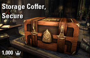 Storage Coffer, Secure [NA-PC]