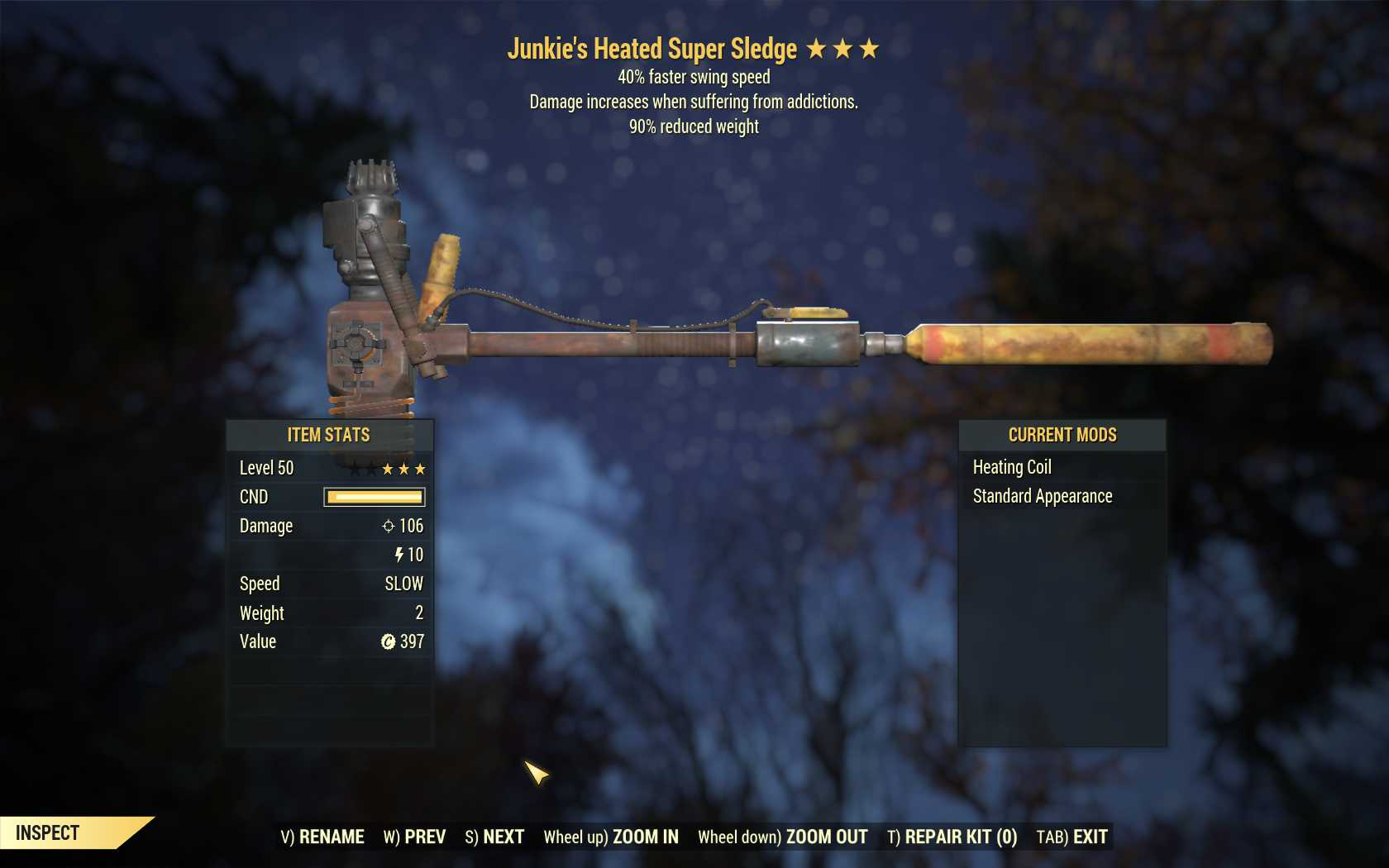 Junkie's Super Sledge (40% Faster Swing Speed, 90% reduced weight)
