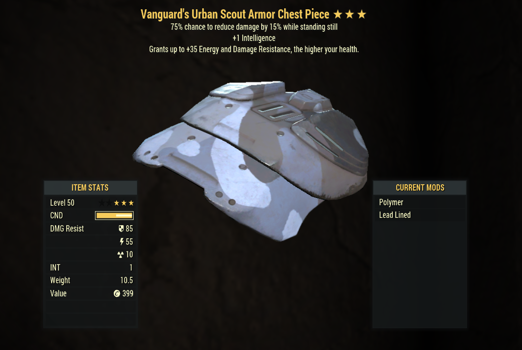 [PC] Unyielding Cavaliers Armor FULL SET(Urban Scout, 5 AP Refresh) / screenshots in offer details