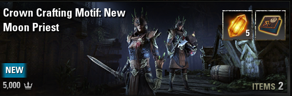 Crown Crafting Motif: New Moon Priest [NA-PC]