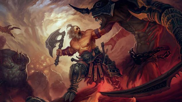 Barbarian (Crit Barbarian)  - gearing for farm pargon Great Rifts 100+