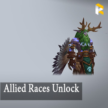 Allied Races Unlock