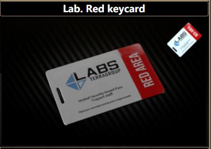 Lab.Red Keycard