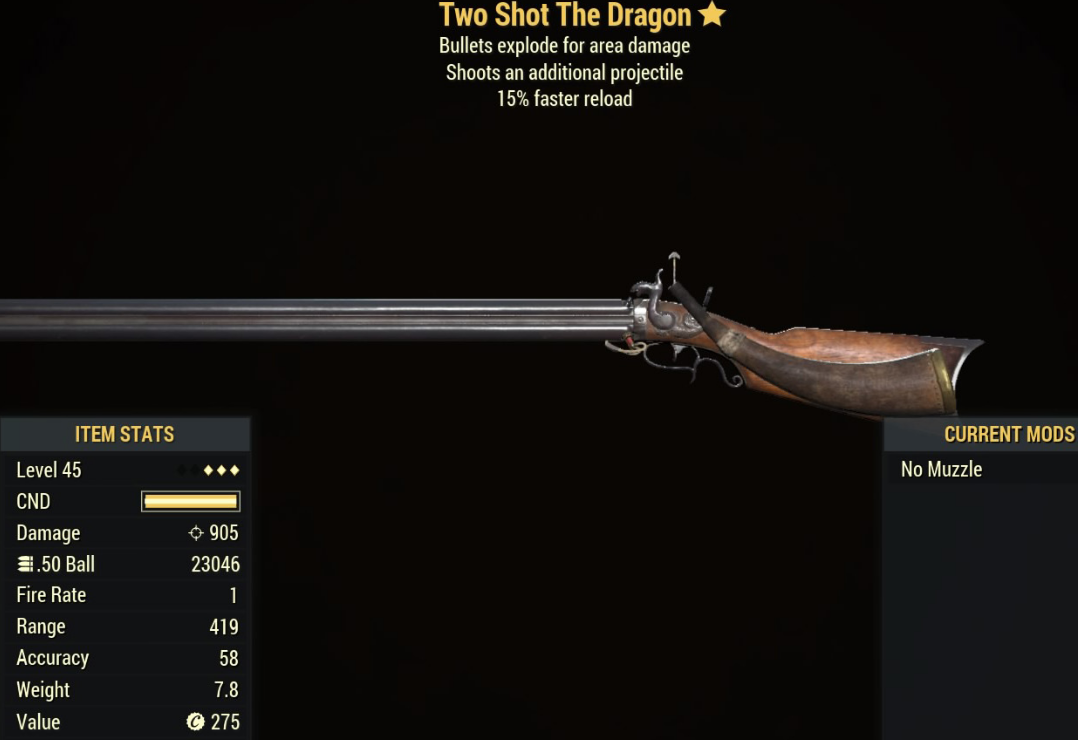 Two Shot The Dragon - Level 45 (3 star)