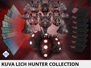 [PC/Steam] Kuva Lich hunter collection (MR 5)  // Fast delivery!