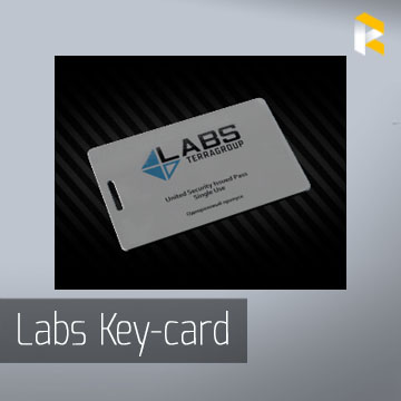 Docs + 8 TerraGroup Labs access keycard - fast & safe