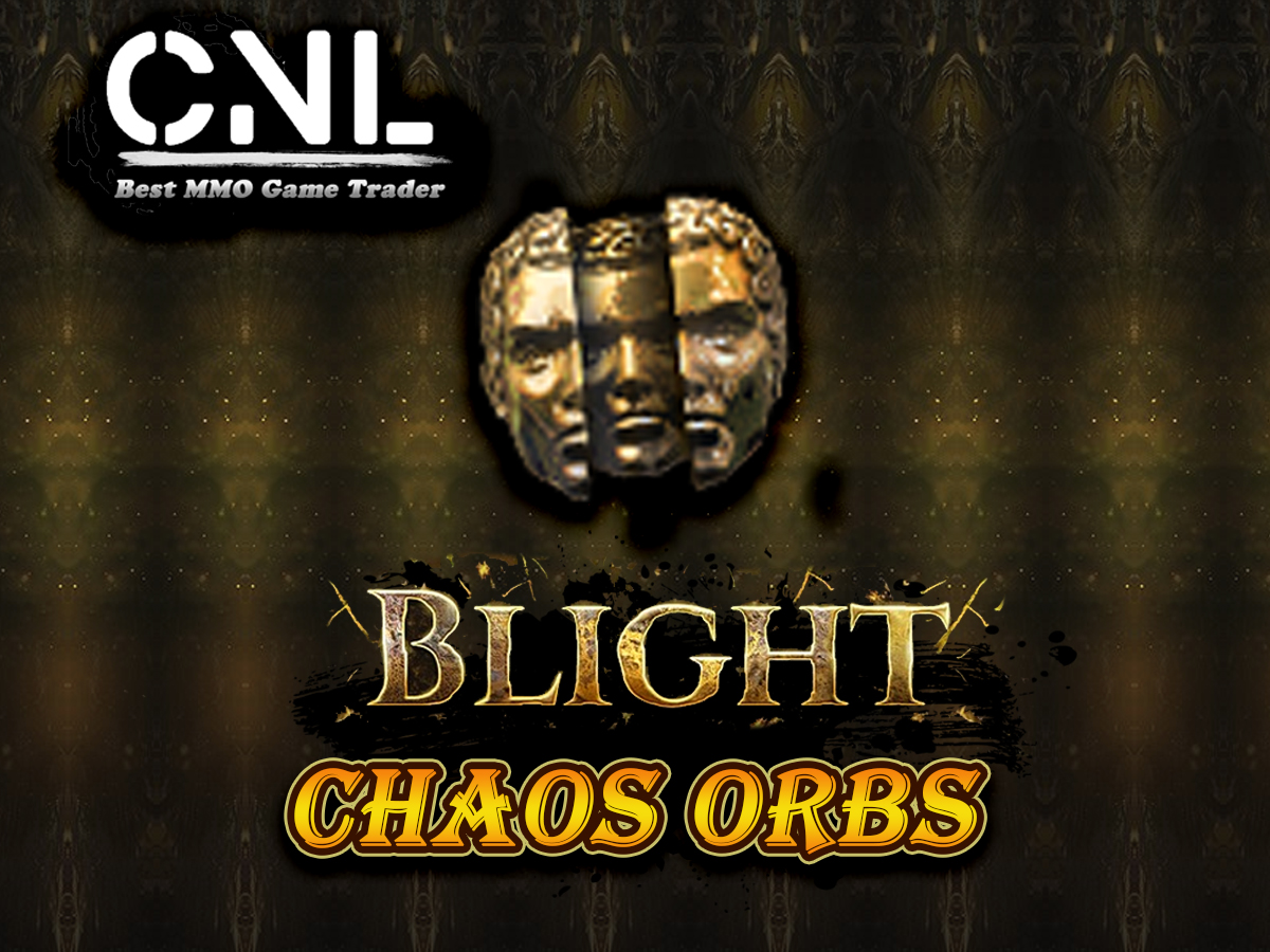 Chaos Orb ★★★ Blight SC ★★★ FAST Delivery (5-10min) [PC]