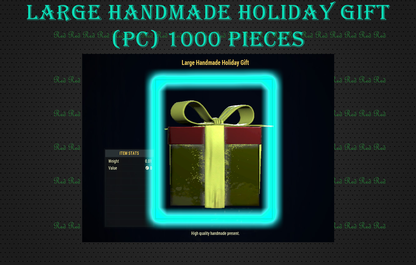 (PC) Large Handmade Holiday Gift (PC) 1000 Pieces Sale!
