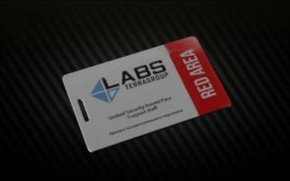 Lab Red Keycard