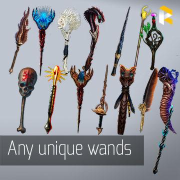 Any unique wands  - read description
