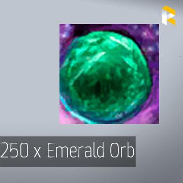 250 x Emerald Orb