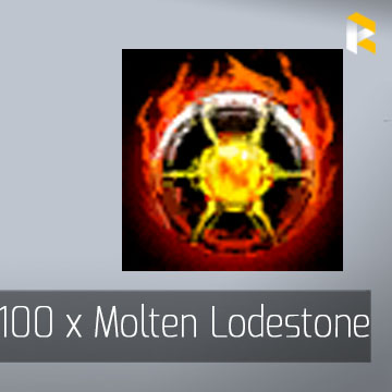 100 x Molten Lodestone - Guild Wars 2 EU & US All Servers - fast & safe