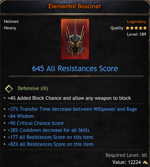 ★★★HELM 645 RES (37% transfer time, 80 wisd, 90 crit hit, 38% cd) - INSTANT DELIVERY (5-10 mins)★★★