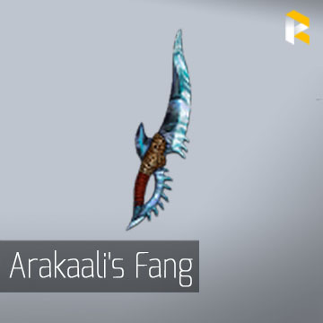 Arakaali's Fang - 3 link