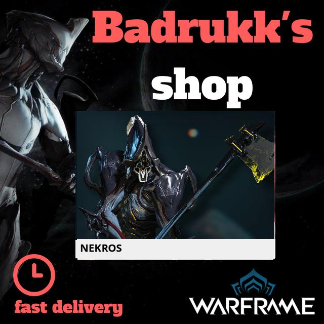 [PC/Steam] Nekros Warframe + Slot + Orokin Reactor // Fast delivery!