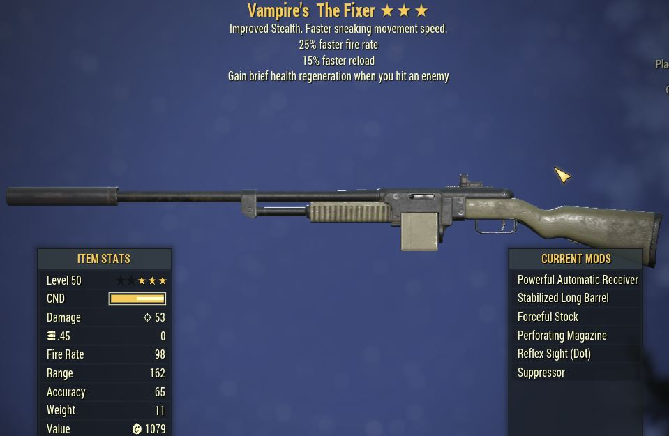 [PC] Vampire's The Fixer [25 FFR   15 FR]