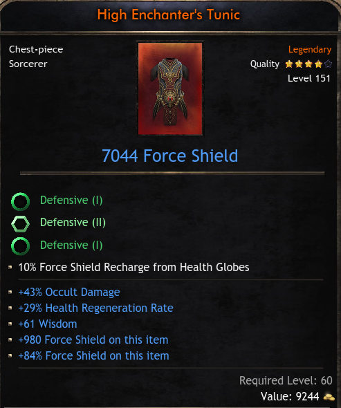 ★★★CHEST 7044 FS (43% occult dmg, 29% hp regen, 61 wisdom) - FAST DELIVERY★★★