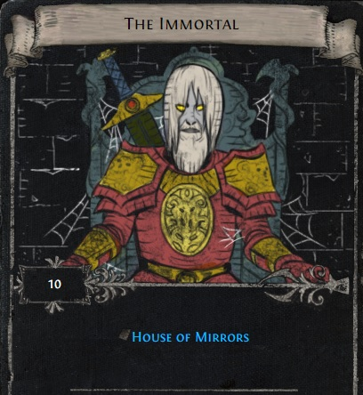 [STD, not league] The immortal - divination card for house of mirrors // instant delivery!