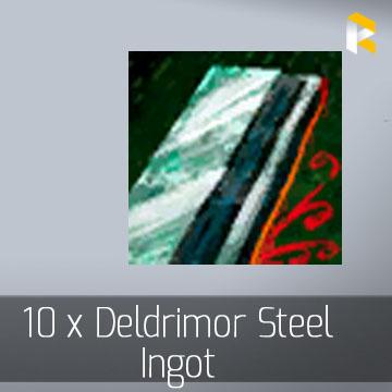 10 x Deldrimor Steel Ingot - Guild Wars 2 EU & US All Servers - fast & safe