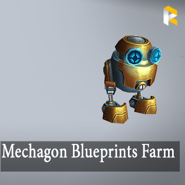 Mechagon Blueprints Farm