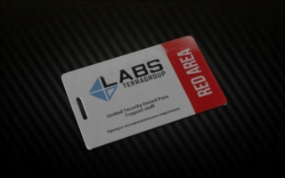 Red Lab Card