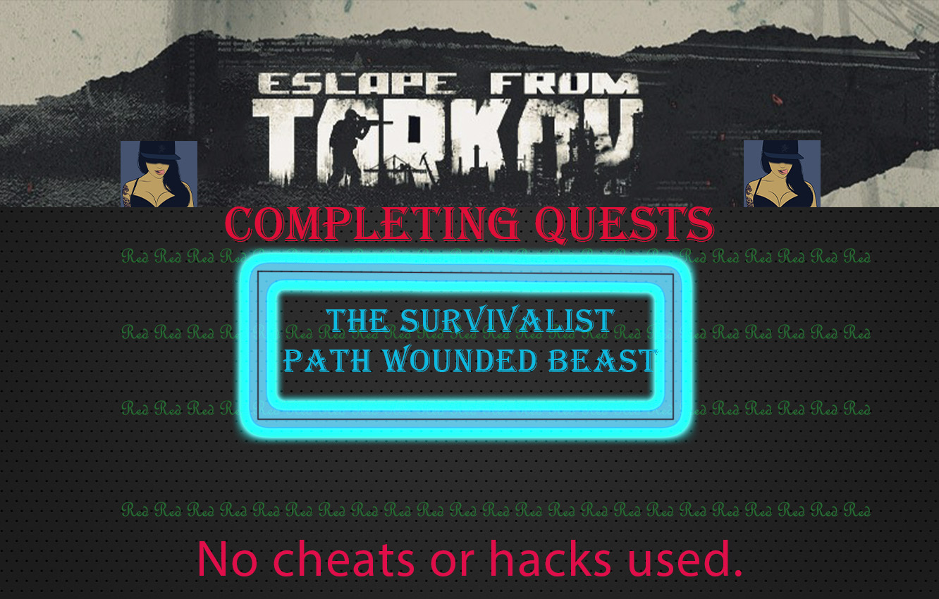 The survivalist path - Wounded beast[Sharing account]