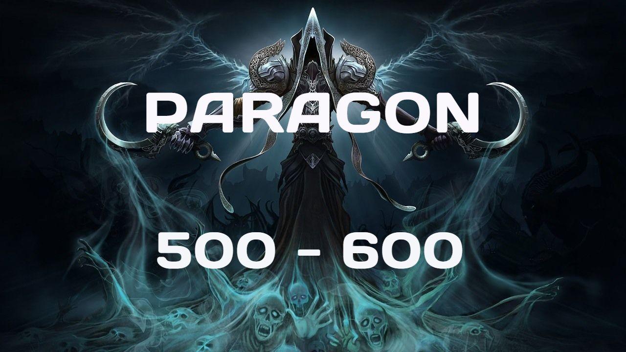 Season 16 EU. Paragon Leveling 500-600