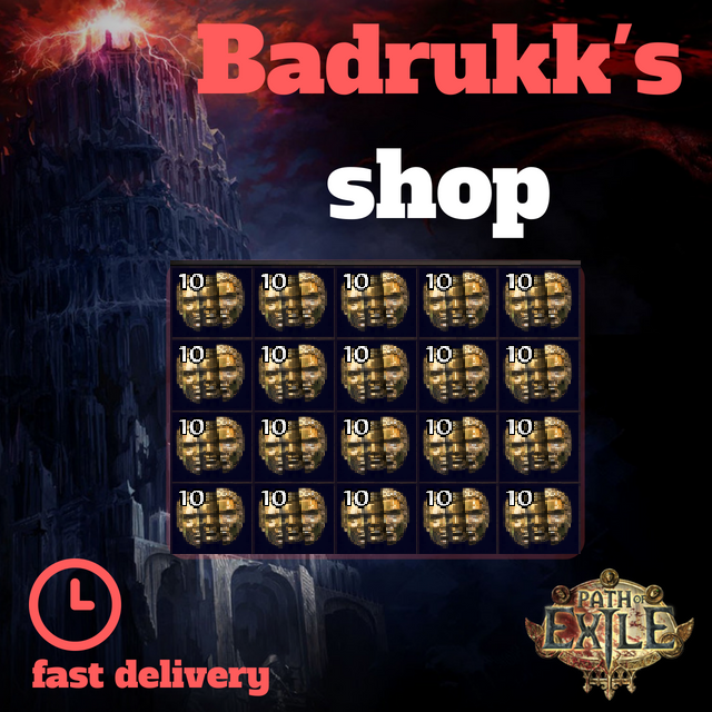 [Betrayal hardcore] Chaos orb // instant delivery + free orbs