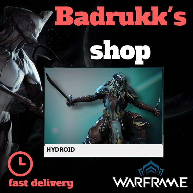 [PC/Steam] Hydroid Warframe + Slot + Orokin Reactor // Fast delivery!