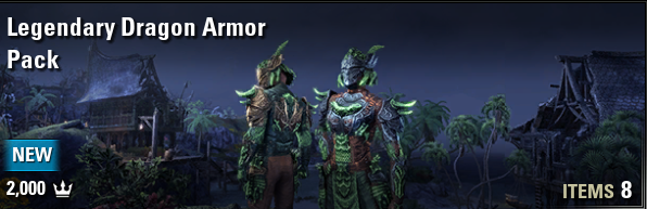 Legendary Dragon Armor Pack [NA-PC]