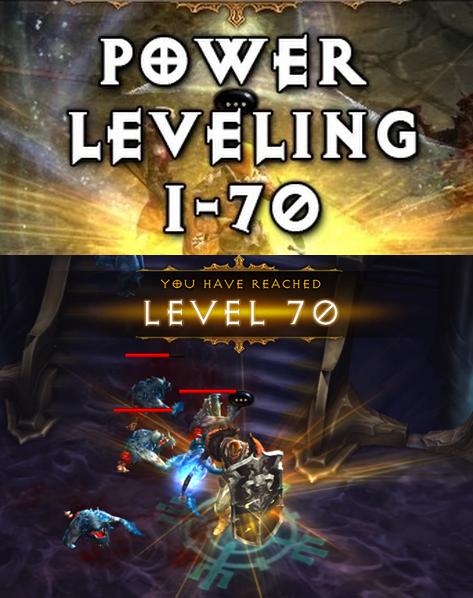 Diablo 3 EU/US Season 12 & Non Power Leveling 1-70 in 15min Taxi Exp to 1-70 BOOST