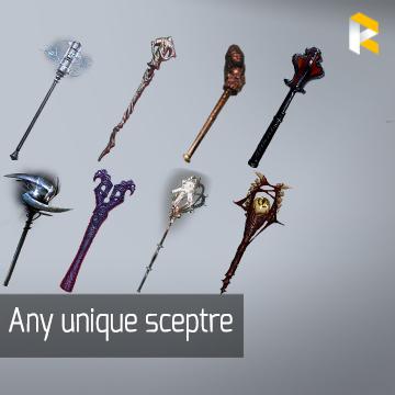 Any unique sceptre - read description