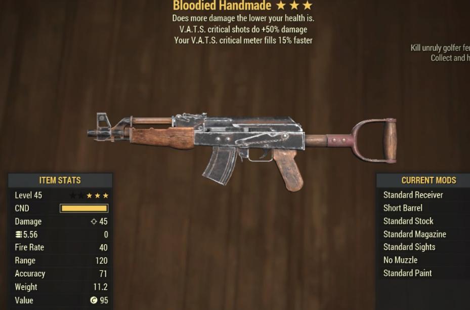 Blodied Handmade- Level 45