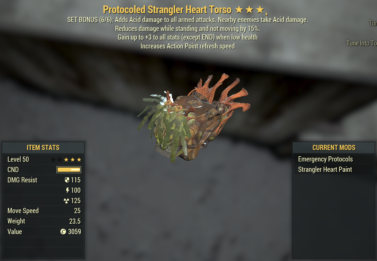 [PRICE DISCUSSED] STRANGLER HEART (FULLY MODDED) (MAGIC) Unyielding/AP Refresh/Titans LEVEL 50