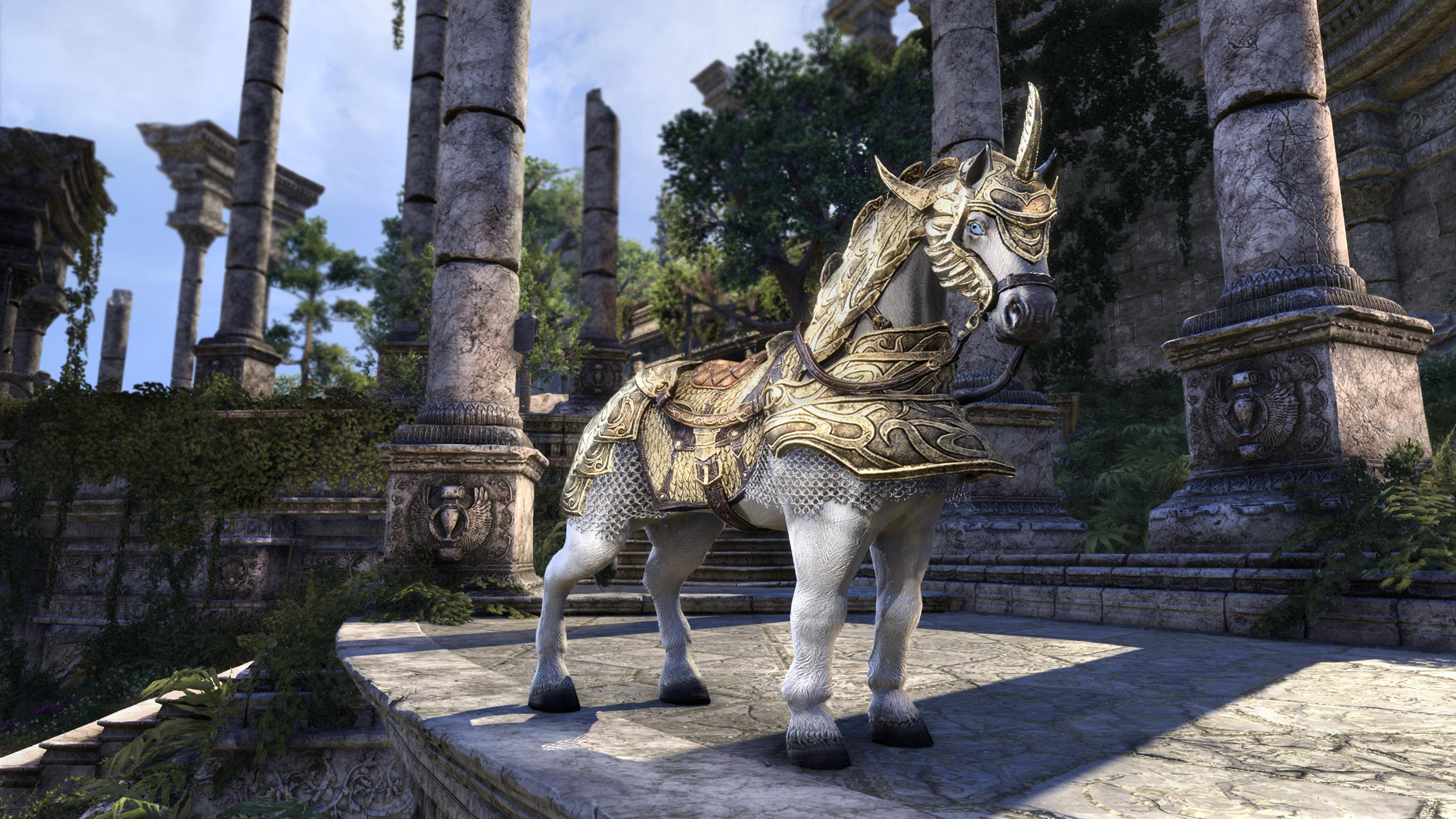 Auroran Warhorse Mount [Crown Item]