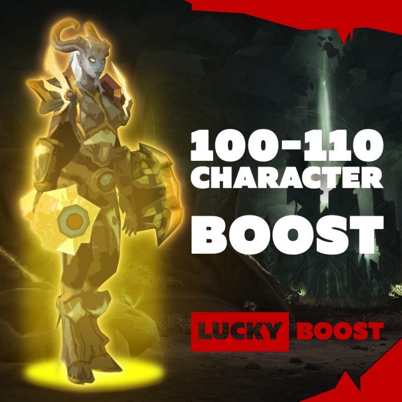 ☘️I will upgrade your character from 100-110 [stream is possible] [price per level 1] ☘️