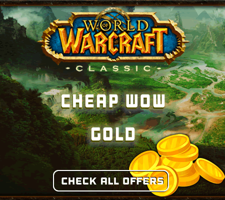 MOST CHEAP WOW CLASSIC GOLD! FAST DELIVERY DIRECTLY FROM GOLD FARMER NOT FROM RESELLER!