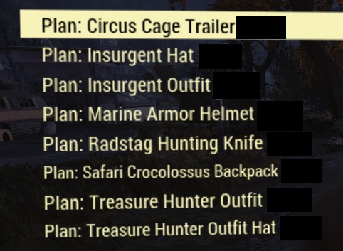 Treasure hunter plans PACK