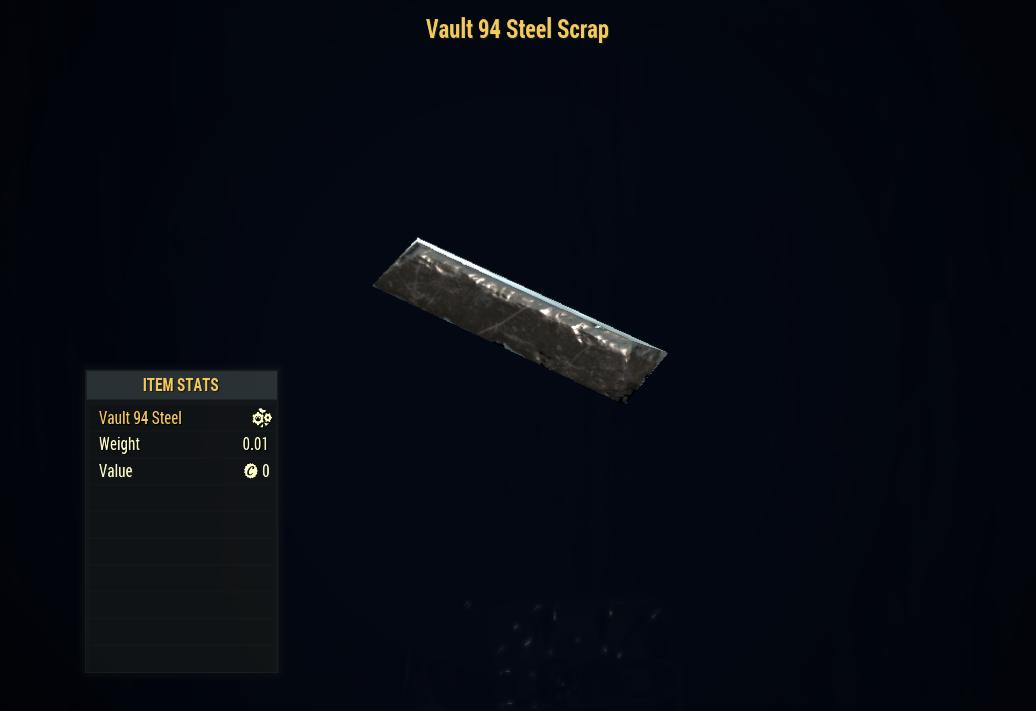 [PC] 100x Vault 94 Steel