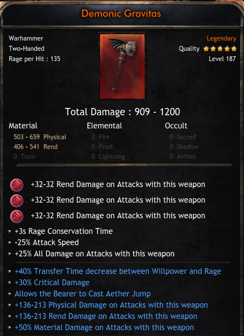 METHOD OF CRAFTİNG MAX STATS AND %50 MET WEAPONS
