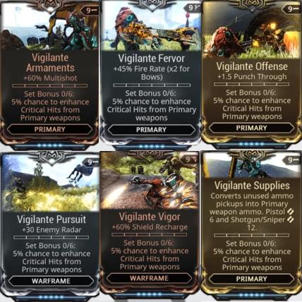 [PC/Steam] Vigilante mod set (armaments, fervor, supplies, offensive, pursuit, vig // Fast delivery!