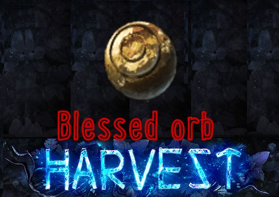[PC] Blessed orb ★★★ Harvest SC ★★★ Instant Delivery