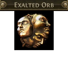 Exalted Orb - Standard league / FAST and SAFE DELIVERY/