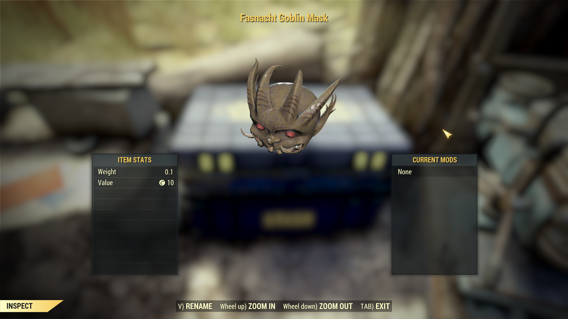 [Rare outfit] Fasnacht Goblin Mask