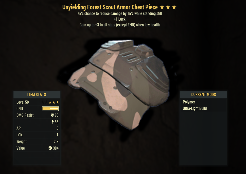 [PC] Unyielding Sentinels Armor FULL SET (Forest Scout) / screenshots in offer details