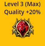 Empower Support (Level 3 Quality 20%) - Non Corrupted - Betrayal Softcore