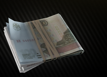 EFT - 1 million Roubles(We dont cover the flea market Fee)