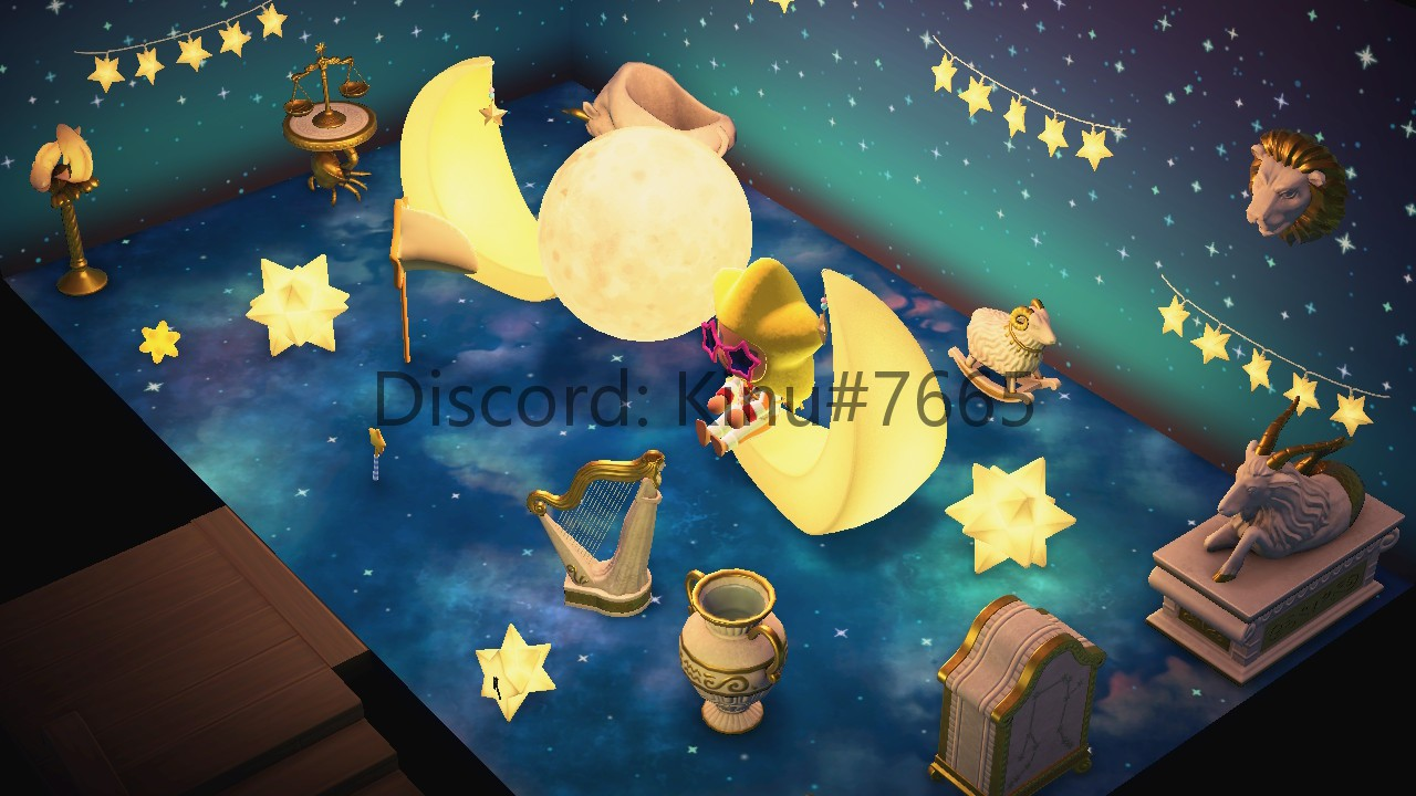 Animal Crossing New Horizons Starry Style Furnitures Set 35PCS 12 constellations
