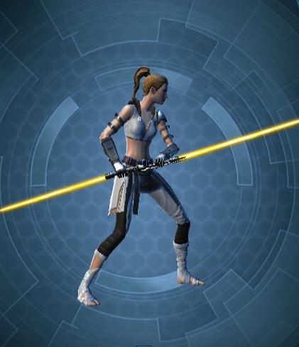 Tau's Lightsaber
